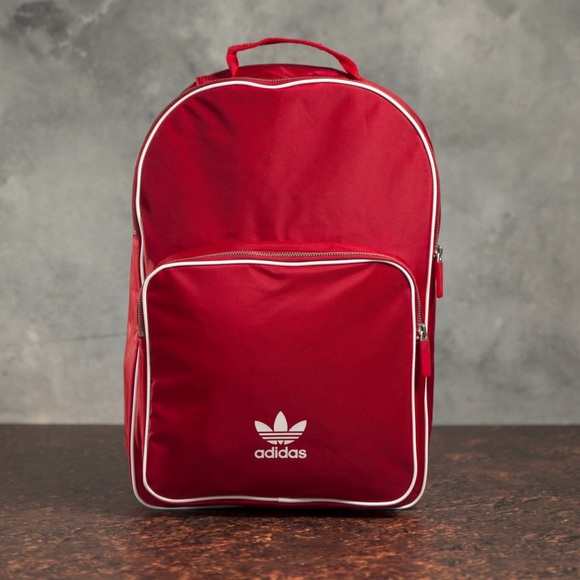 f76546c578b adidas Bags | Nwt Originals Adicolor Backpack In Red | Poshmark
